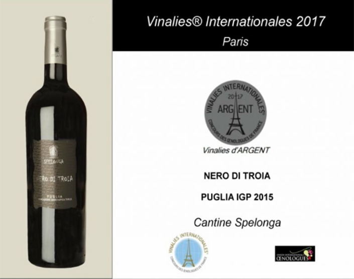 "QUOTIDIANO L'ATTACCO | Vinalies Internationales premia ""Cantine Spelonga"""