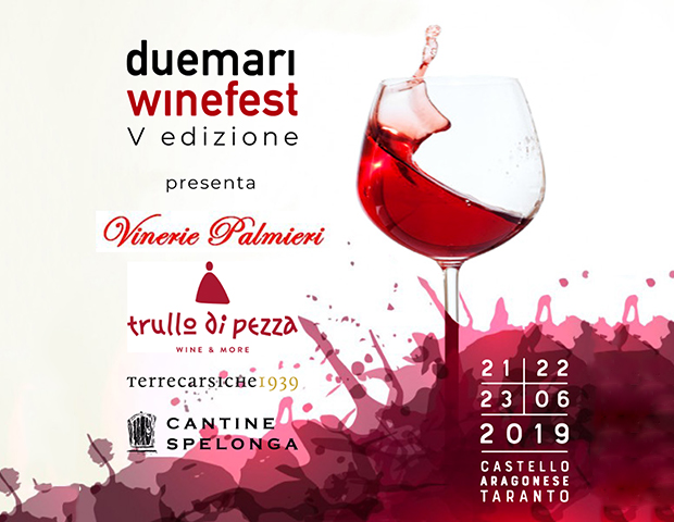"Cantine spelonga presente al ""Due Mari WineFest"""