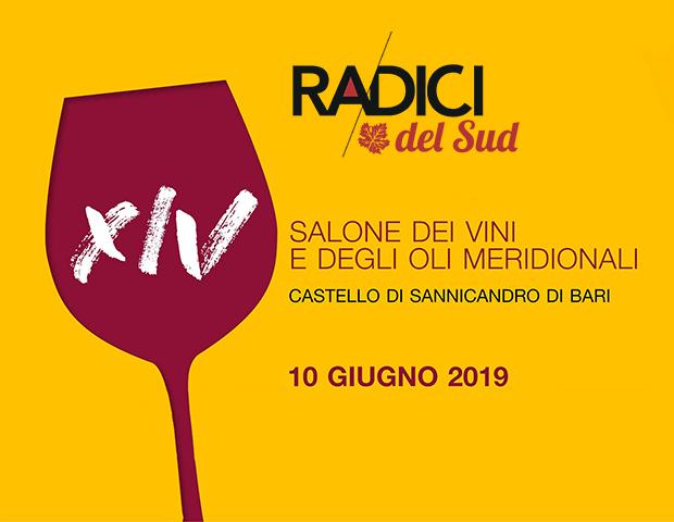 Copertina evento Radici del Sud 2019 Salone dei vini e degli oli meridionali a Sannicandro di Bari